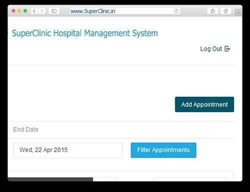SuperClinic : Hospital Management Portal | Online Hospital